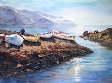 Cinque Terra Fisherman
